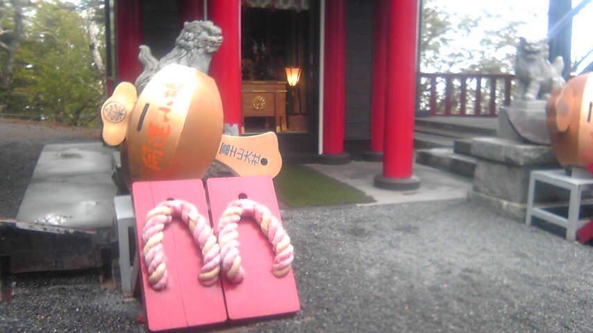 富士山五合目の神社