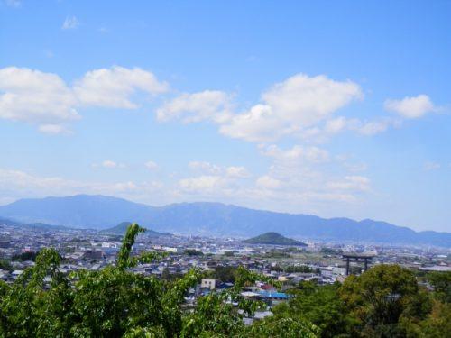 三輪山からの眺めは?