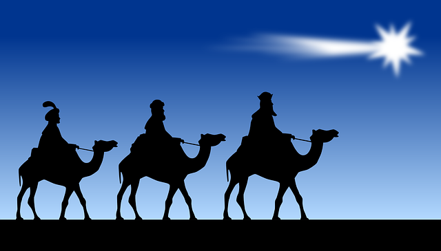 クリスマスの三賢者が向かった星とは?