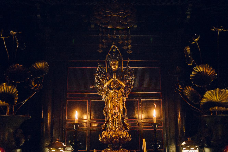 清水寺の千手観音像